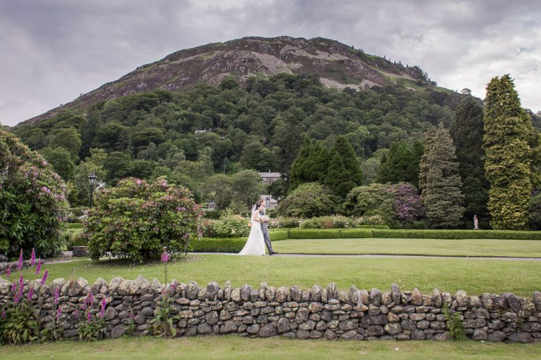 Photo of when Jess & James got married in the Lake District