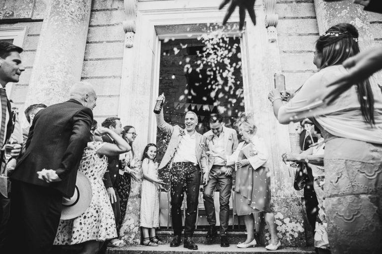 Weddings Photographs of Julian & Stephen's Wedding