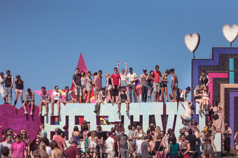 photographs of Bestival, 2010 to 2012