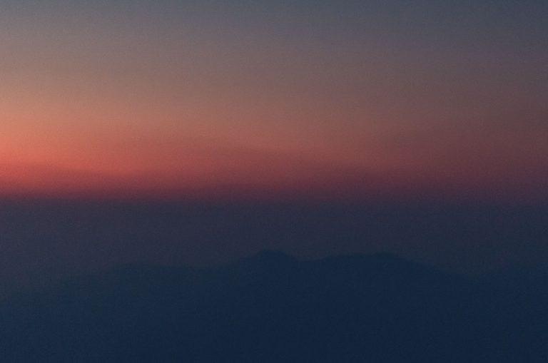 Rishikesh, Himalayan sunrise