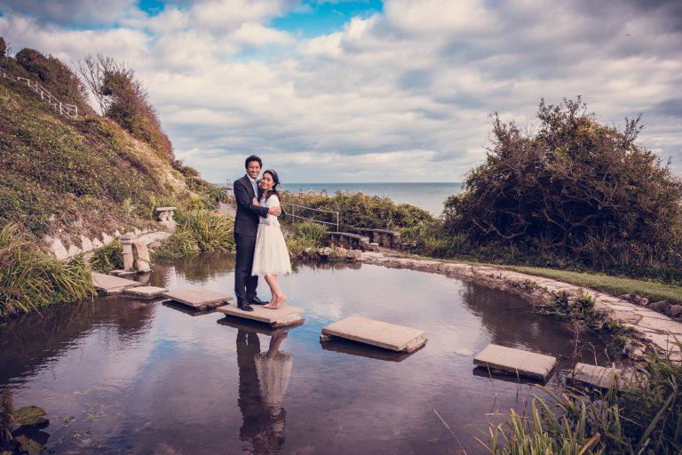 Michael & Kaori's wedding in Ventnor on the Isle of Wight